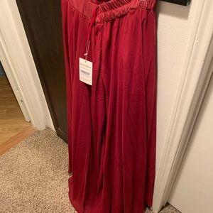 Dresses & Skirts - Wine red skirt.